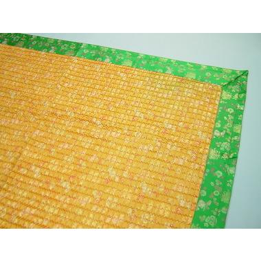 ヤンダンフチドリカーペット・黄色×グリン