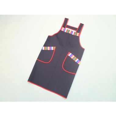 韓国七色(セットン)エプロン・紺
